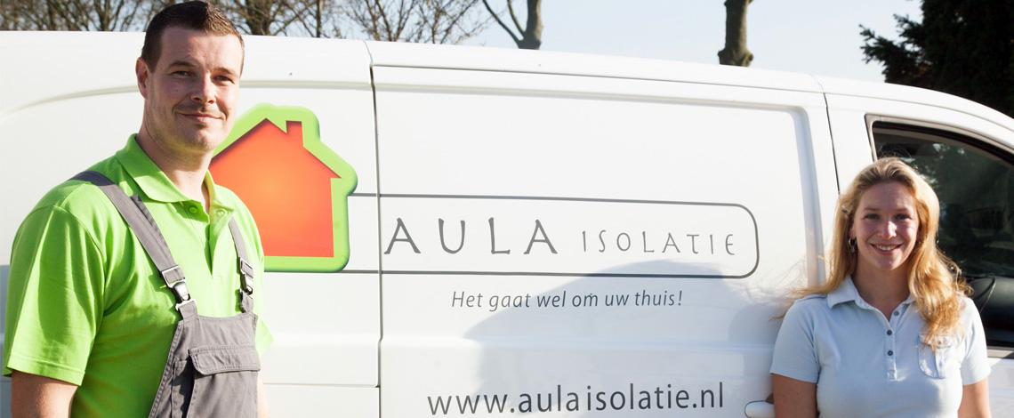 Aula isolatie helpt met spouwmuurisolatie